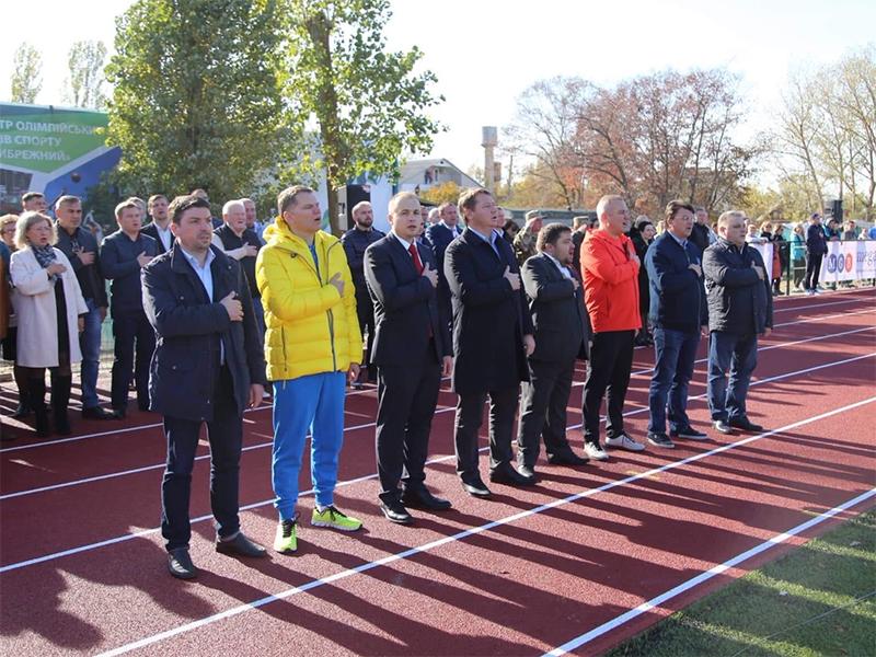 Крымская Федерация легкой атлетики проводит соревнование на Херсонщине