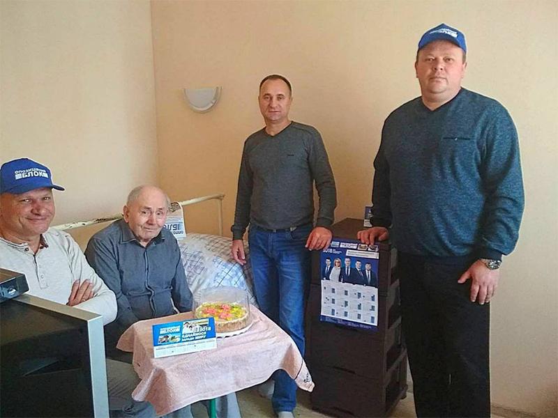 «Подари тепло ветерану» в Новой Каховке
