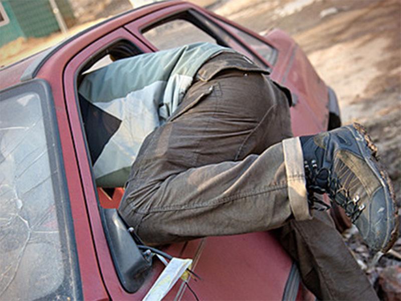 Херсонские автомобильные воры уже ничем не брезгуют
