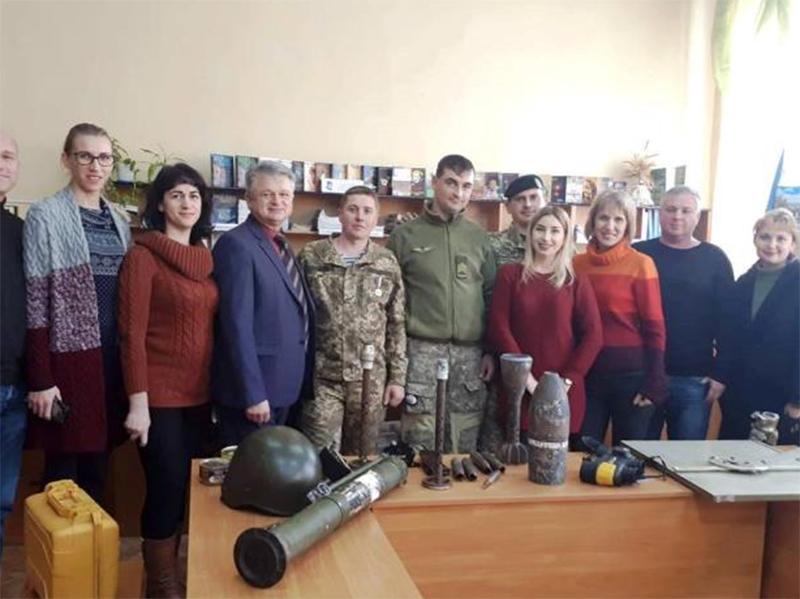 Херсонські студенти та викладачі зустрілися з Героями