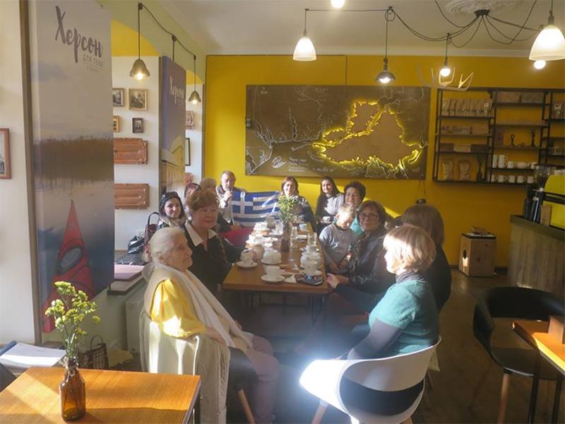 """Херсонське міське товариство греків """"Еллада"""" відзначило національне свято"""