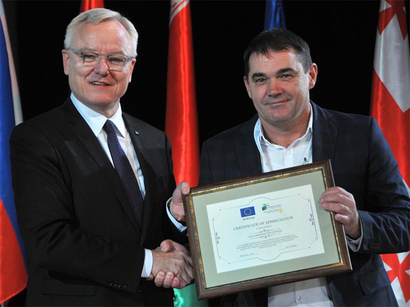 Гола Пристань підвищує енергоефективність за кошти ЄС