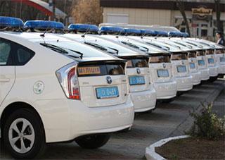 Херсонская милиция ездит на «Тойотах»