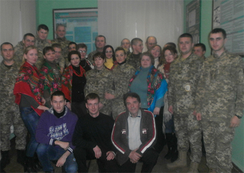 До прикордонників в Скадовську завітав творчий колектив  «Мрія»