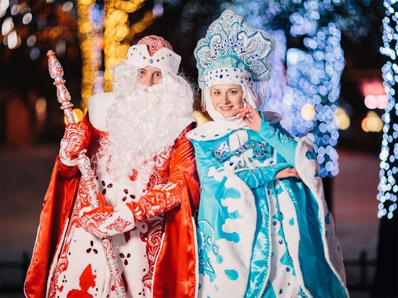 Сколько стоят услуги Деда Мороза и Снегурочки в Херсоне?
