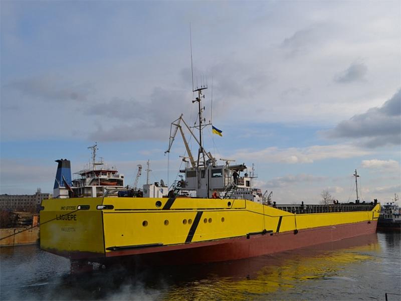 Смарт Меритайм Групп передал голландское судно заказчику