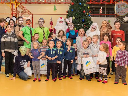 Меценаты помогли херсонским детям в поисках посоха Деда Мороза