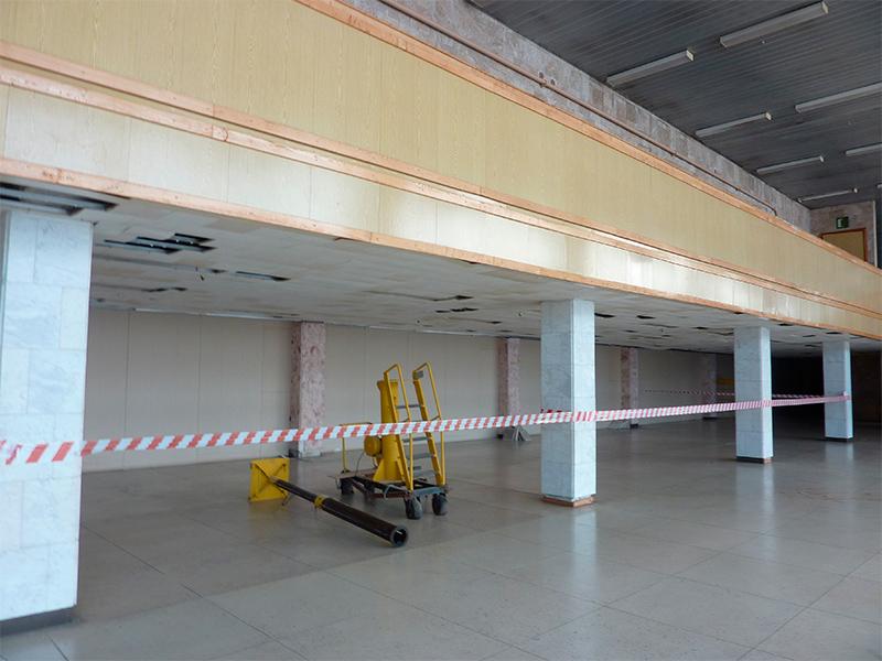 В Херсонском аэропорту прибавится удобств для пассажиров