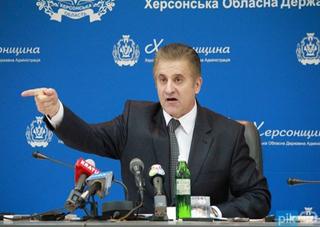Губернатор Херсонщины разбирается с «руководством» в районах области