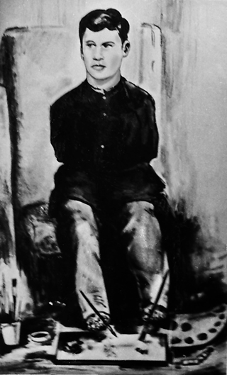 Малював ногами Шило