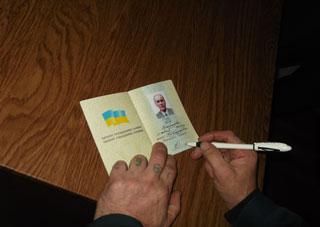 У херсонській виправній колонії четверо засуджених отримали паспорти громадянина України
