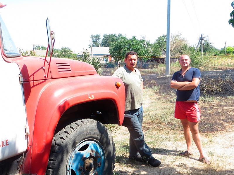 Пожежна команда села на Херсонщині