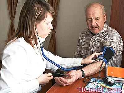 К врачу едут лечиться