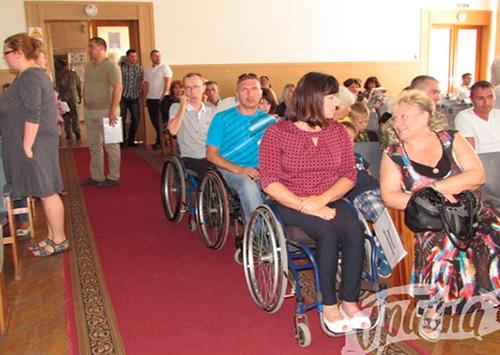 Херсонский мэр проигнорировал проблемы инвалидов
