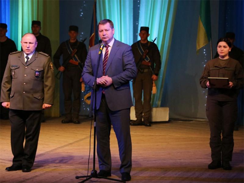 Андрій Гордєєв привітав Національну Гвардію України з 5 річницею