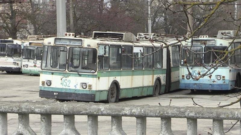 За тиждень Херсон може залишитися без троллейбусного сполучення
