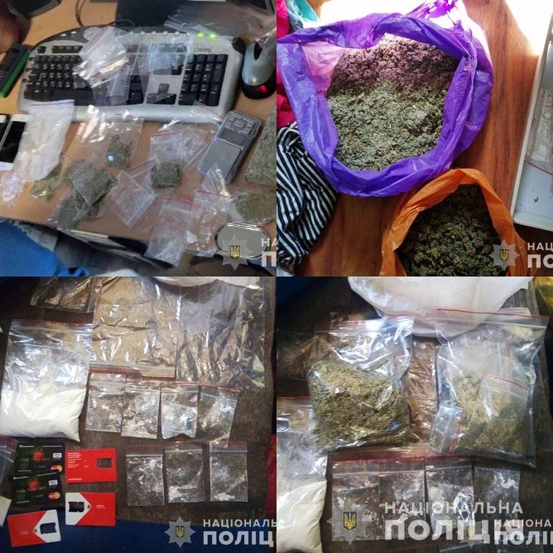 В Херсоні направлено до суду справу щодо злочинного угрупування наркоторговців
