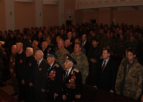 В Каховці вшанували українських військових