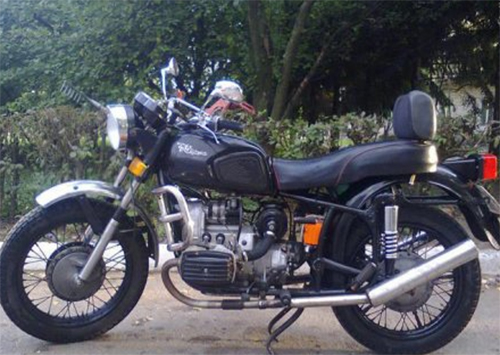 В Каховском районе вор украл мотоцикл, но так его и не завел