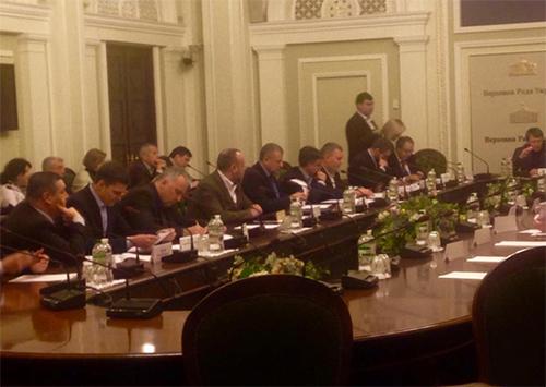 Вопрос о недопустимости приватизации Каховского магистрального канала будет вынесен на парламентские слушания