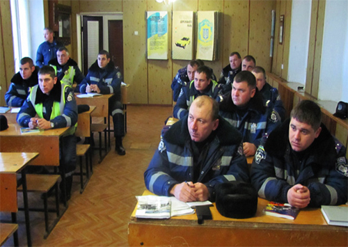 На Херсонщине сотрудники милиции провели занятия по тактической и огневой подготовке