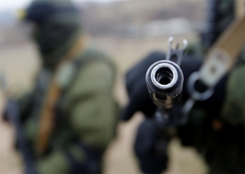 В Херсон прибыло оружие