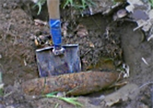 На Херсонщине нашли минометные мины и артснаряды времен ВОВ