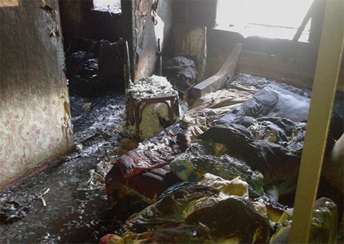 На Херсонщині пожежа забрала життя людини