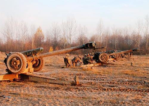 Міноборони України веде бойові навчання у заповідній зоні на Херсонщині