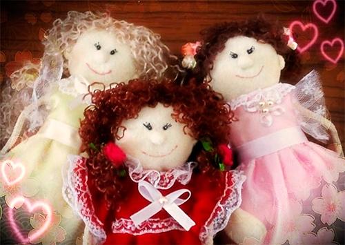 Наталия Рожкован: Любите кукол, берегите их, дарите!