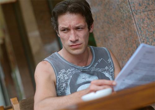 Херсонский актер снялся в сериале «Спросите у осени»