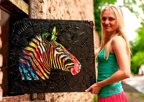 Херсонский дизайнер Евгения Иващук: Хочу подарить вам частичку цвета и позитива!