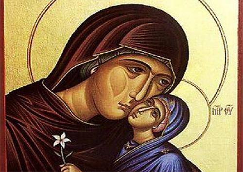 В Херсон прибыли мощи и копия иконы прав. Анны – защитницы беременных женщин