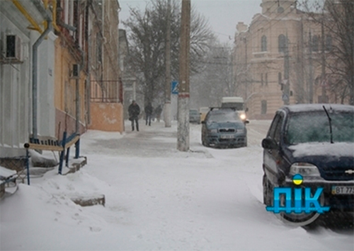 Хто в Херсоні відповідає за сніг?