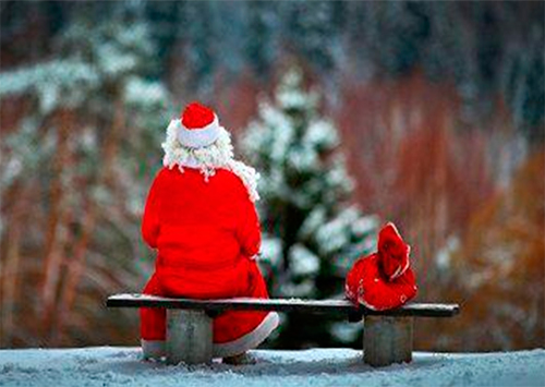 На Херсонщине арестован обидчик Деда Мороза