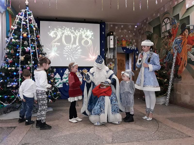 У Херсоні новорічні свята продовжуються