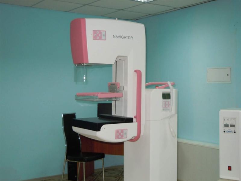 Херсонська лікарня отримала цифровий комп'ютерний мамограф