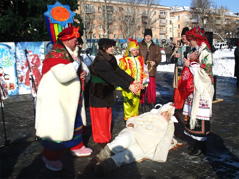 Херсонцам о новогодних традициях