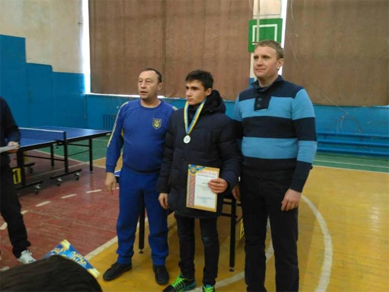 В Геническе прошёл зимний детский турнир по настольному теннису