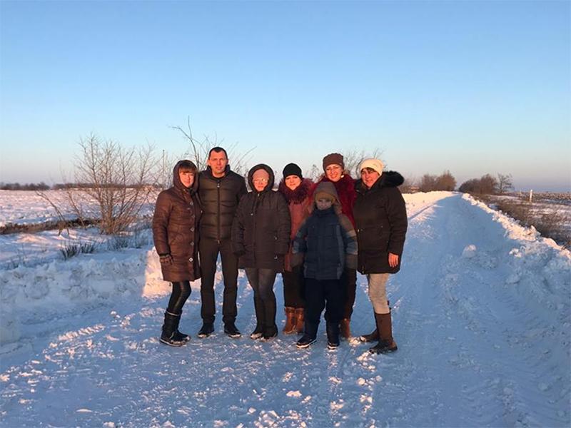 Антонівців визволили з снігового полону