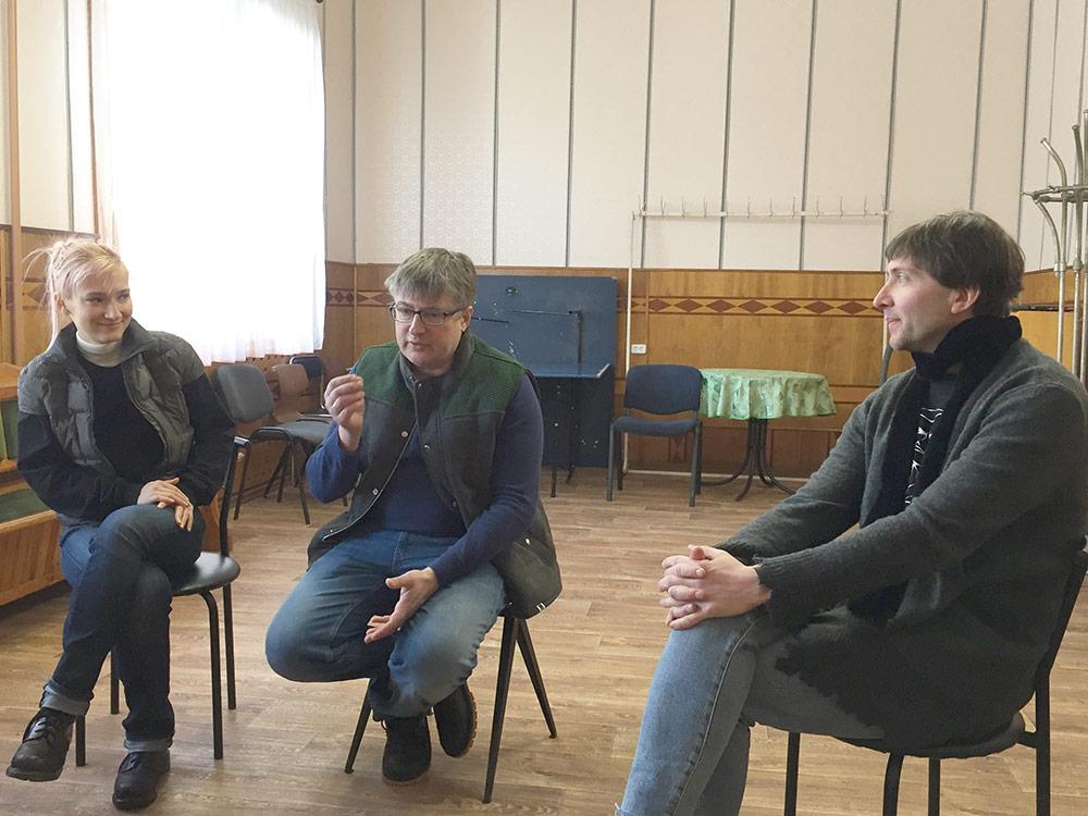 Актори Херсонського театру готуються підкорити Штутгарт