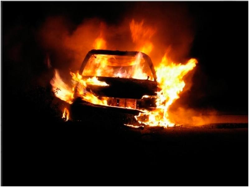 Новогодний подарок сгорел у жителя Херсонщины
