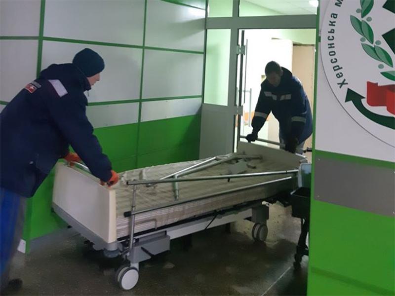 Голландське ліжко для херсонської лікарні