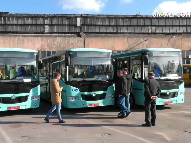 Чому в Херсоні ламаються нові автобуси