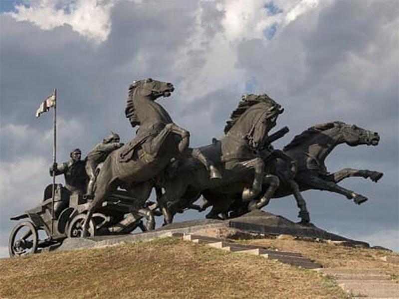 На Херсонщине нашлось место для коней с тачанки