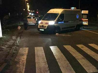 В Новой Каховке такси сбило вышедшего из маршрутки пешехода