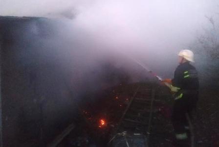 В Херсонській області під час пожежі у власному будинку загинув 62-річний чоловік