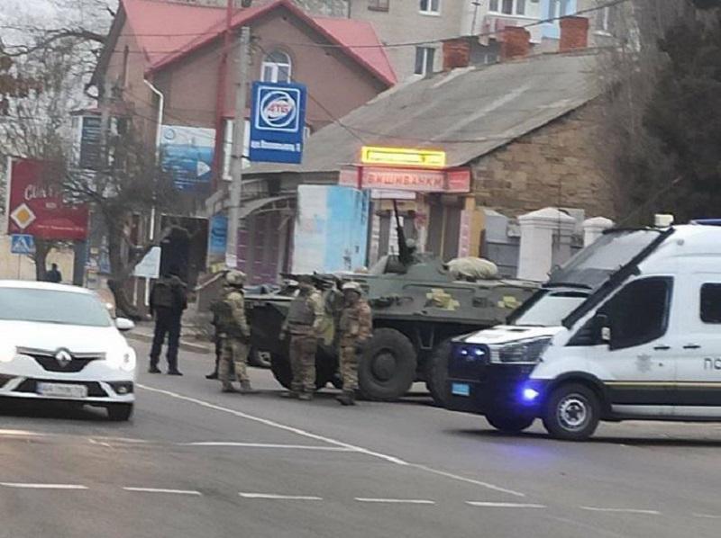 В Херсонській області проводиться спецоперація проти організованої злочинності