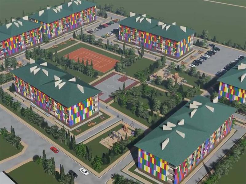 Городок для переселенцев построят в курортном Геническе