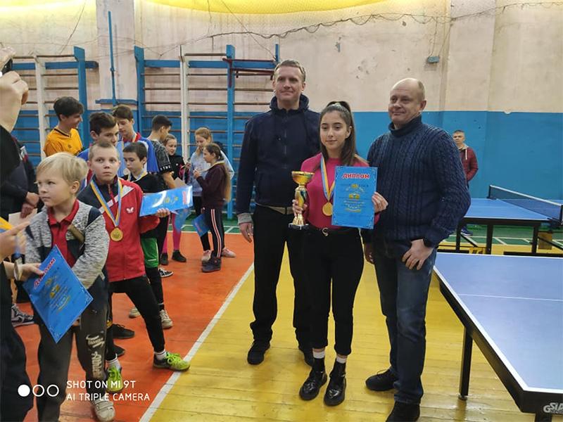 На Херсонщині відбувся дитячий турнір з настільного тенісу на призи Генічеського райради